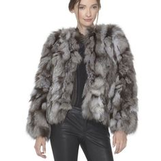 I just discovered this while shopping on Poshmark: NWT Alice + Olivia Cayle Fox Fur Coat!NWT. Check it out! Price: $500 Size: XS, listed by britwinters