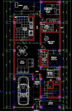 Planos vivienda autocad - Imagui