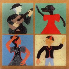 Alfreda Benge sleeve, for Gorky's Zygotic Mynci's Spanish Dance Troupe L.P.