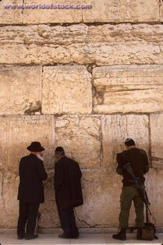 The Wailing Wall - Holy Land