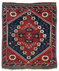 Turkish Kiz Bergama rug, mid 19th ct.
