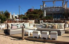 Akin & Suri Chez Gerdi, in Formentera - stylish italian restaurant at the beach, Playa es Pujols