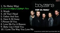 BOYZONE - TOP 10 BEST SONGS ALL THE TIME -2017 with lyrics