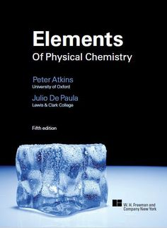 Free download physical chemistry by david w ball in pdf https free download elements of physical chemistry 5e by peter atkins and julio de paula fandeluxe
