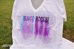 All Things Thrifty Home Accessories and Decor: Tutorial: How to tie dye with sharpie markers