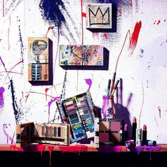 Urban Decay x Jean-Michel Basquiat Collection for spring 2017
