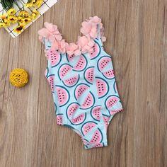 Kids Baby Girl Swimwear Bodysuit Watermelon Print Source by kidshopedia Swimwear Baby Girl Swimwear, Baby Girl Swimsuit, Pink Swimsuit, Kids Swimwear, One Piece Swimwear, Swimsuits, Boho Swim Suits, Bathing Suits, Cute Watermelon