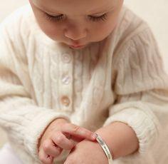 Sterling Silver Namesake Bracelet | Jewelry For Kids | Restoration Hardware Baby & Child