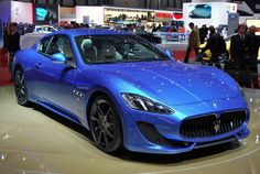A replacement for the aging GranTurismo is still a few years out, so in an effort to keep the model line fresh, Maserati has released this all new Sport tri Luxury Car Rental, Luxury Cars, My Dream Car, Dream Cars, Maserati Granturismo Sport, Maserati Gt, Geneva Motor Show, Sport Cars, Cool Cars
