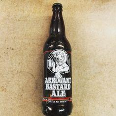 Stone Brewing - Arrogant Bastard Ale - 22oz