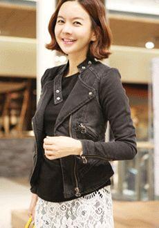 Denim Rider\'s Jacket  SFSELFAA0012815