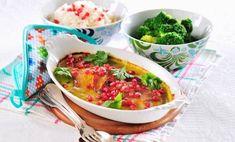 10 recept som får kilona att rasa! | Allas Recept Small Mats, Swedish Recipes, Halloumi, Tzatziki, Lchf, Granola, Health Fitness, Fitness Mat, Thai Red Curry