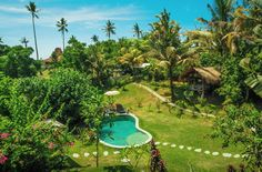 Green wonderland - Balian treehouse, Selemadeg Barat (Indonesia) http://www.elle.be/nl/122057-10-populairste-bestemmingen-airbnb.html