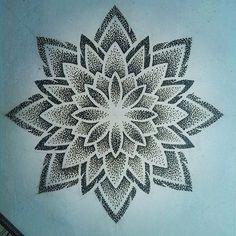enigma_geometricks @enigma_geometricks | Websta (Webstagram) Dot Tattoos, Dot Work Tattoo, Flower Tattoos, Body Art Tattoos, Sleeve Tattoos, Mujeres Tattoo, Mandala Sleeve, Jewel Tattoo, Knee Tattoo