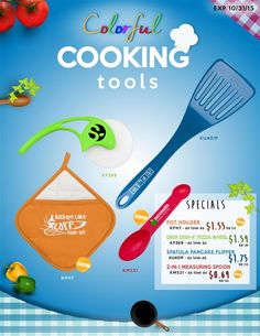 Colorful Cooking Tools!