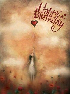 Birthday Wishes In Heaven, Happy Heavenly Birthday, Happy Birthday Greetings Friends, Happy Birthday Wishes Cards, Happy Birthday Friend, Birthday Blessings, 21 Birthday, Birthday Cake, Birthday Quotes Kids