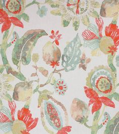 null Kinds Of Vegetables, Trend Fabrics, Old Wallpaper, Home Decor Fabric, Color Stories, Tropical Leaves, Drapery Fabric, Joanns Fabric And Crafts, Outdoor Fabric