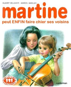 Martine can at last really piss the neighbours off