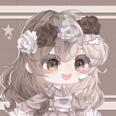 Chibi Girl Drawings, Cute Kawaii Drawings, Kawaii Art, Cute Anime Chibi, Anime Girl Cute, Kawaii Anime, Anime Wolf Girl, Art Anime, Club Design