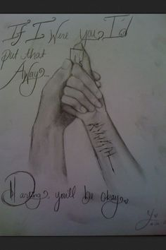 Hold On Till May❤ the person who drew this is AMAZING