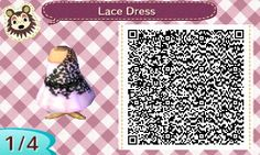 Animal Crossing New Leaf Lace Dress  (1/4)