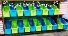 Daily 5 book boxes