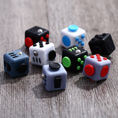 Are you a person that's likes clicking buttons, turning dials. Then this is the cube is perfect for you.