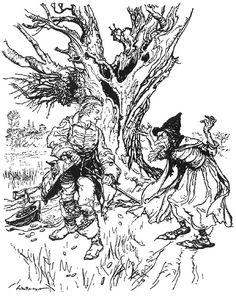 The Tinderbox  by Arthur Rackham