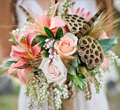 floral option via #GreenWeddingShoes