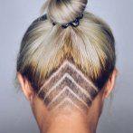 203 Likes, 8 Comments - undercut Shaved Undercut, Undercut Pixie, Pixie Haircut, Pompadour Hairstyle, Undercut Hairstyles, Girl Hairstyles, Badass Haircut, New Hair, Your Hair