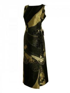 1960s Galitzine Silk Tunic Dress