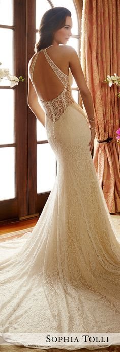 Wedding Dress by Sophia Tolli Spring 2017 Bridal Collection | Style No. » Y11718 Noelle