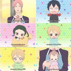 Gakuen Babysitters love this show. I Love Anime, All Anime, Anime Chibi, Kawaii Anime, Manga Anime, Bebe Anime, Saiunkoku Monogatari, Gakuen Babysitters, Gekkan Shoujo