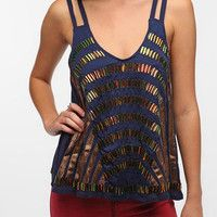 Add some glam to the game with this sparkling top. Kimchi Blue Deco Top- Urbanoutfitters.com