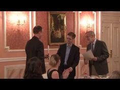 Edward Snowden receives Sam Adams award in Moscow