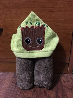 A personal favorite from my Etsy shop https://www.etsy.com/listing/491413226/mini-baby-tree-man-hooded-towel