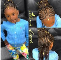 hairstyles going up hairstyles with afro puff hairstyles on curly hair braid and curls hairstyles sims 4 hairstyles for natural hair hairstyles model to do braided hairstyles Little Girl Braid Styles, Kid Braid Styles, Little Girl Braids, Black Girl Braids, Braids For Kids, Girls Braids, Kid Braids, Kid Styles, Childrens Hairstyles