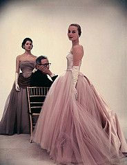 Designer Victor Stiebel, Fiona at rear 1953 by dovima_is_devine_II, via Flickr