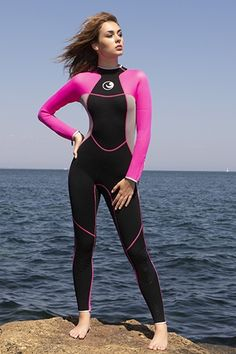 Hot-selling women's wet suits for surfing or scuba diving Scuba Wetsuit, Diving Wetsuits, Bathing Suits Canada, Diving Suit, Scuba Diving, Cave Diving, David Beckham Suit, Little Girl Swimsuits, Scuba Girl