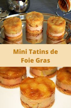 Healthy Treats For Thanksgiving, Because The Turkey Isn't Everything Foie Gras, Cinnamon French Toast, Christmas Lunch, Healthy Treats, Creative Food, Holiday Recipes, Minis, Snack Recipes, Food Presentation