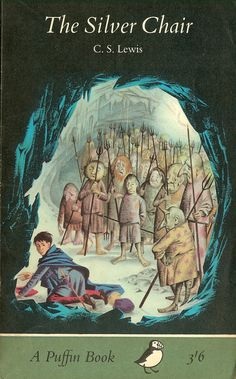 The Silver Chair by CS Lewis (PDF). Chronologically the book in The Chronicles Of Narnia. Eustace and his friend Jill Pole are called to Narnia by Aslan, who assigns them a task to find Caspian's missing son, Prince Rilian. Science Fiction, The Silver Chair, Mystery, Romance, Chronicles Of Narnia, Cs Lewis, Vintage Children's Books, Classic Books, Illustrations