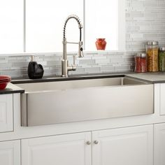 "42"" Hazelton Stainless Steel Farmhouse Sink"