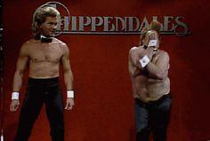 Patrick Swayze & Chris Farley - One of the funniest SNL skits. I swear :)