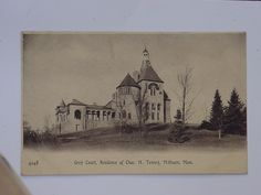 Tenney | Grey Court, Residence of Chas. H. Tenney, Methuen, Mass.