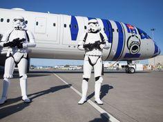IMAGENS: ANA apresenta seu Boeing 787-9 Dreamliner com pintura especial do R2-D2 de STAR WARS