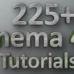 225+ Cinema 4D Tutorials for Beginners and Professionals