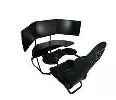 Ergonomics Computer Gaming Chair And Desk Design Gaming Desk Chair Design