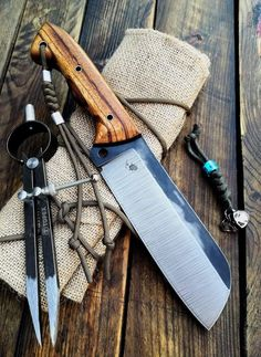 Cool Knives, Knives And Tools, Knives And Swords, Handmade Chef Knife, Handmade Knives, Knife Template, Knife Making Tools, Knife Patterns, Blacksmith Tools