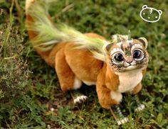 Earth Cougar Chibi Dragon Spirit by LisaToms