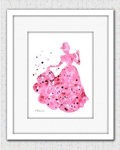 Pink Princess 1 Archival Print from Original Painting